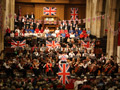 Last Night of the Proms at St Andrew's Hall, 2009
