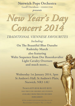 New Year's Day 2014 Viennese Concert - Norwich Pops Orchestra