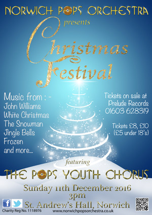 Christmas Festival with Norwich Pops Youth Chorus