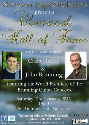 Classical Hall of Fame - Saturday 21st February 2015