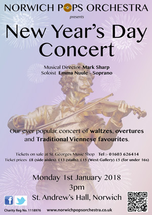 Traditional New Year's Day Concert featuring Emma Nuule