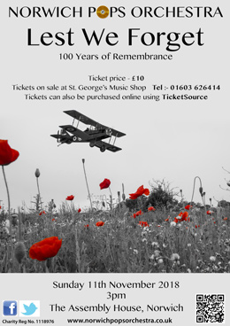 Lest We Forget - 100 Years of Remembrance