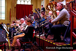 Norwich Pops Orchestra Brass department