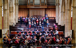 Norwich Pops Orchestra - 14th December 2014